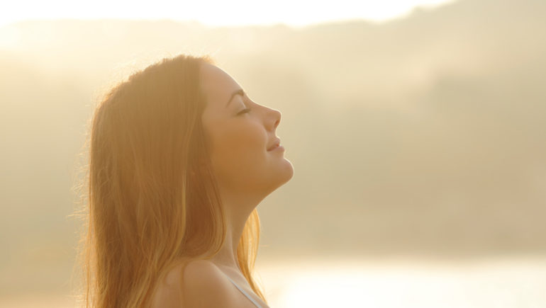meditation and breathing yoga